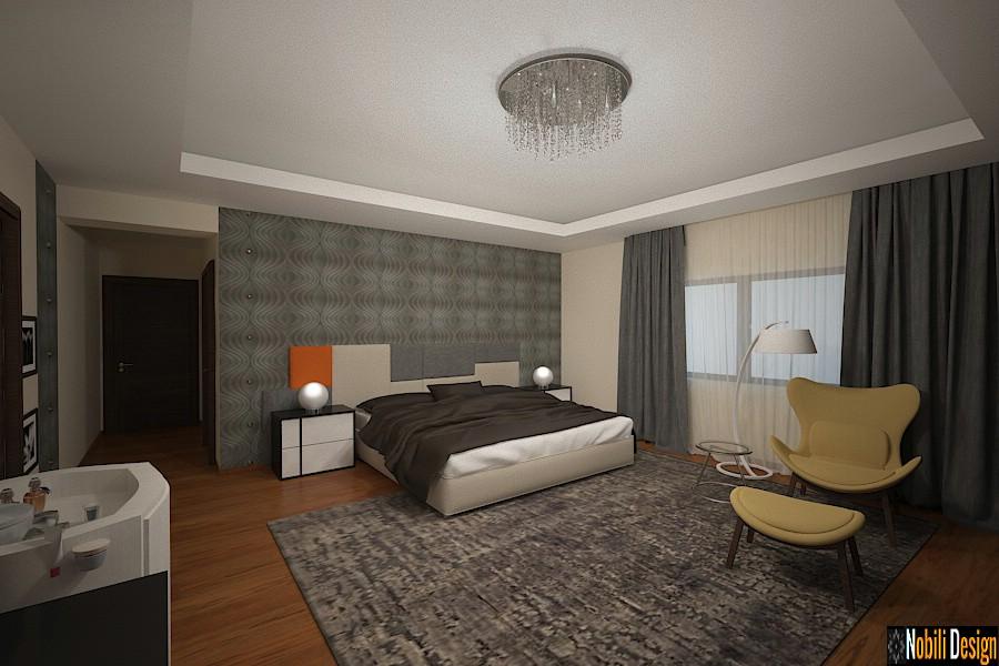Nobili Interior Design ~ design interior dormitor casa moderna pipera.