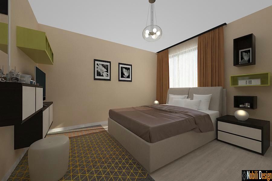 design interior dormitor casa moderna sinaia