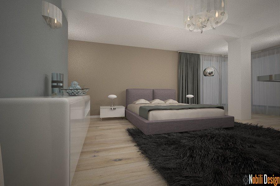 design interior dormitor casa moderna snagov bucuresti