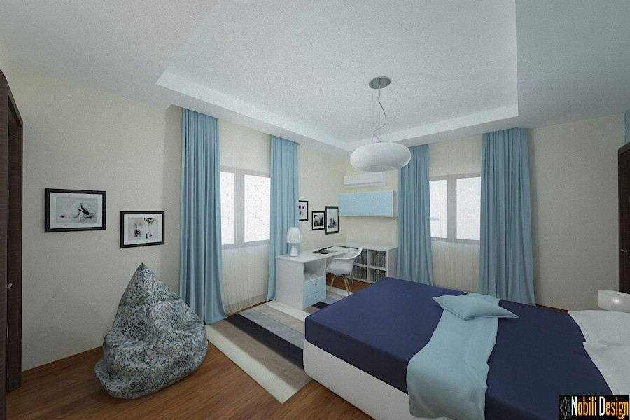 Nobili Interior Design ~ Design interior dormitor casa Pipera 2017.