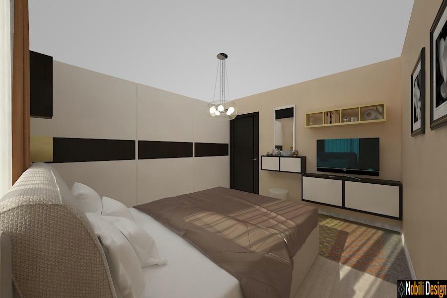 Design - interior - dormitor - casa - Sinaia.