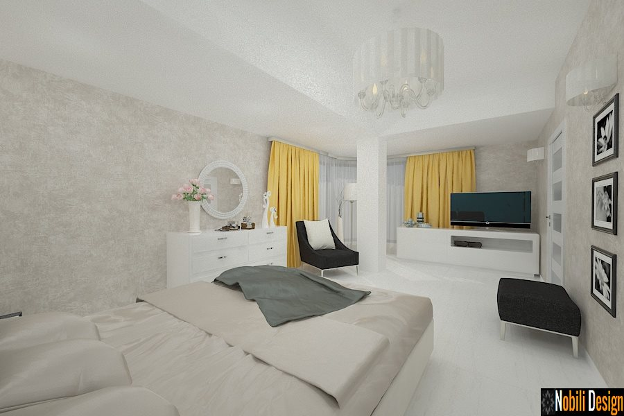 Design - interior - dormitor - case - moderne - constanta.