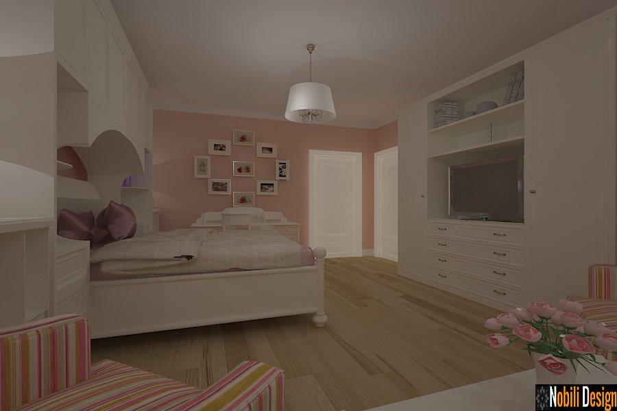 Design - interior - dormitor - clasic - casa - Constanta - Mamaia