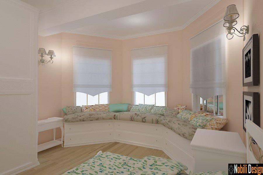 Design - interior - dormitor - clasic - casa - Constanta - Mamaia nord
