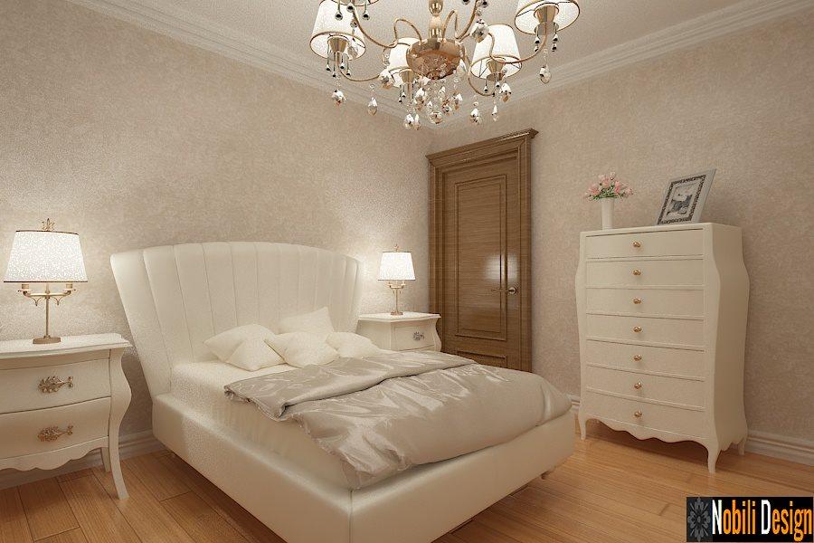 design interior dormitor clasic etaj - Bucuresti