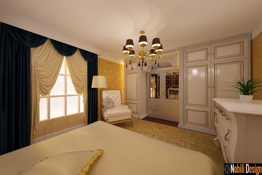 Design interior-  dormitor clasic - Bucuresti