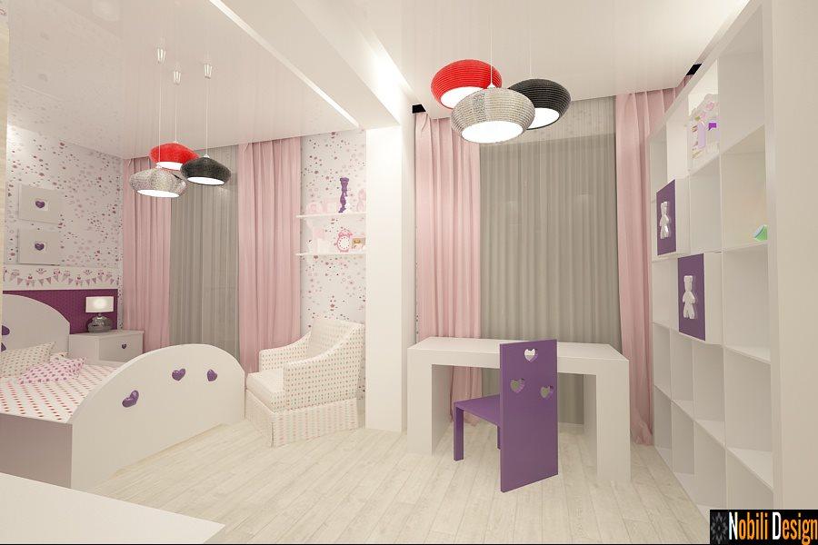 Design - interior - dormitor - copii - casa - Constanta