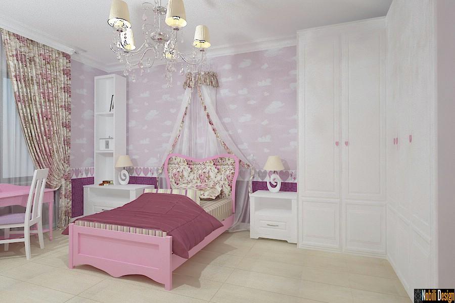 Design - interior - dormitor - copii - casa - braila.