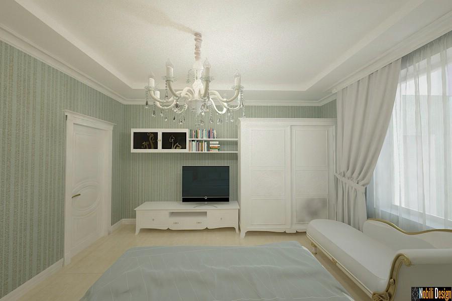 Design - interior - dormitor - copii - casa - cu etaj - Tandarei.
