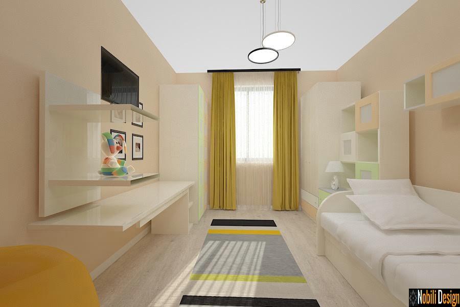 design interior dormitor copii casa moderna sinaia