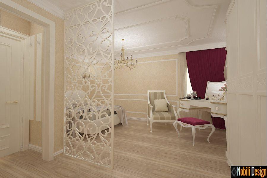 Design - interior - dormitor - garsoniera - stil - clasic - Bucuresti