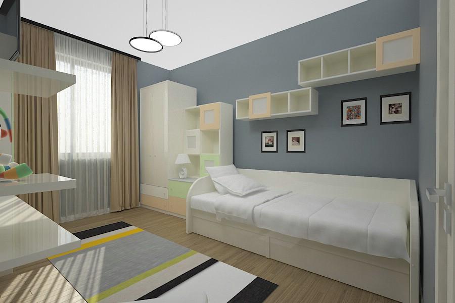 design interior dormitor modern casa braila