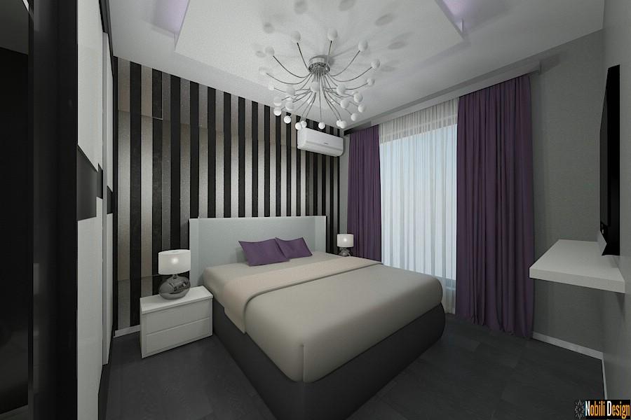 Design - interior - dormitor - modern - casa - sector 4 - in - bucuresti| Amenajari - interioare - case - moderne - Sector 4 - Bucuresti - preturi.