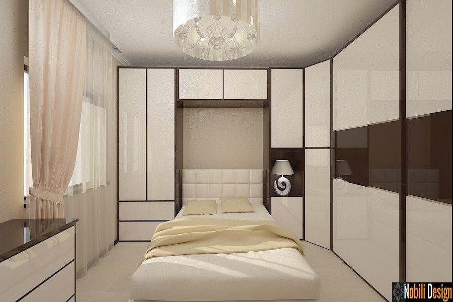 Design - interior - dormitor - vila - casa - moderna - Constanta