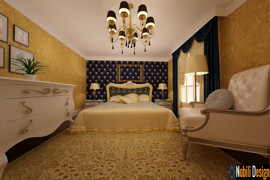 Design - interior - dormitor - vila - clasica - Brasov