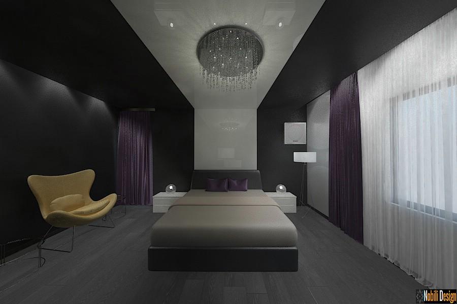 Design - interior - dormitor - vila - de - lux - Bucuresti - 2017| Amenajare - interioara - dormitor - casa - Unirii - sector 3 - Bucuresti.