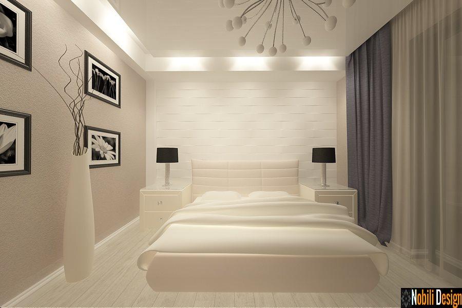 Design - interior - dormitor - vila - moderna - Brasov - Cristian.