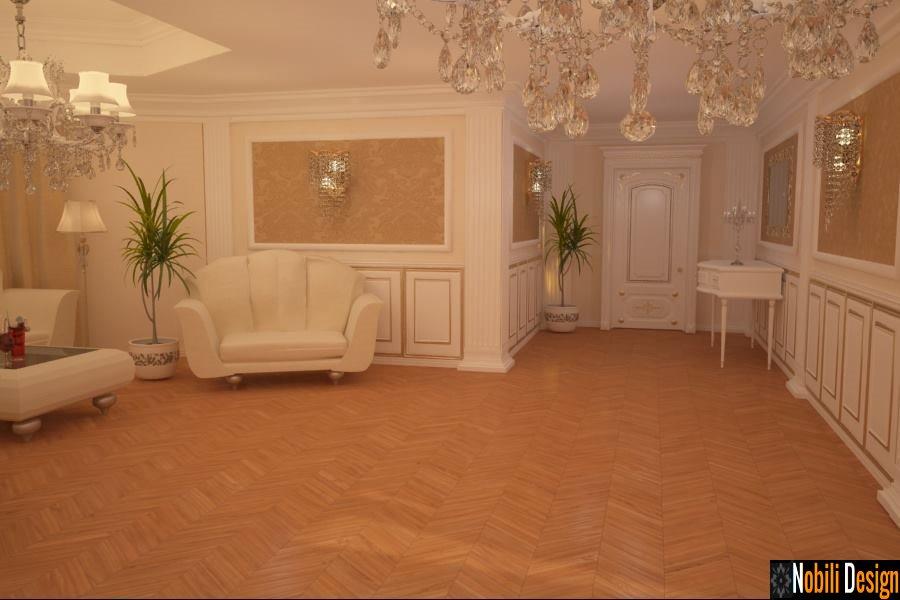 Design interior - dormitor - vila de lux