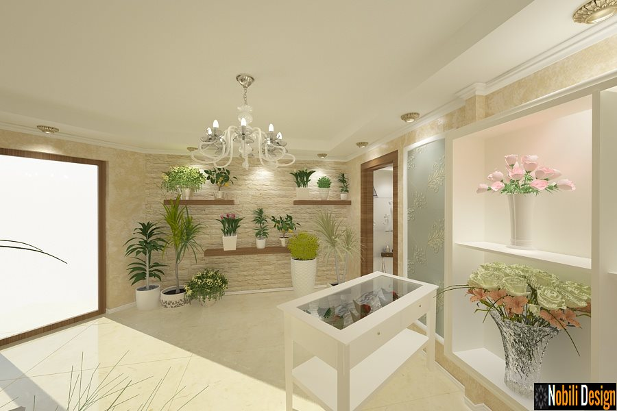 design interior - florarie - pret-Iasi, Bacau, Suceava, Focsani,