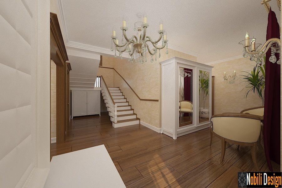 Design - interior - hol - casa - clasica - Bucuresti