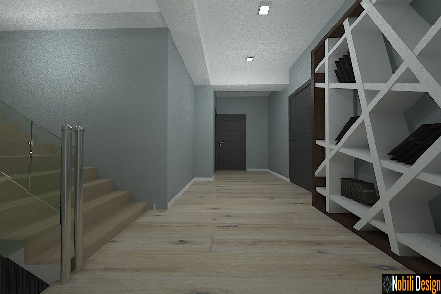 design interior hol casa mobila alivar