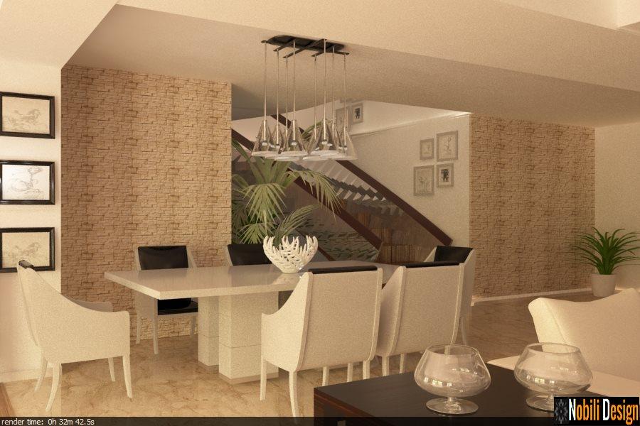 design interior hol casa moderna bucuresti