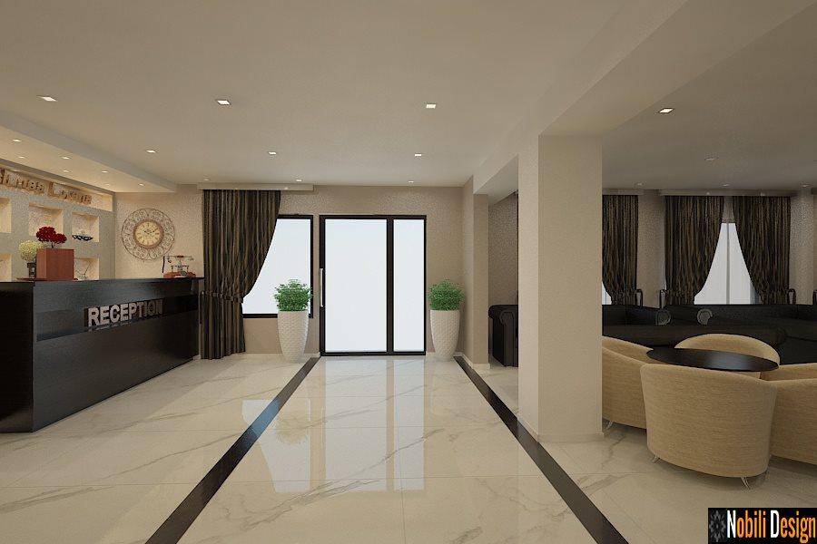 design interior hol pensiune Constanta