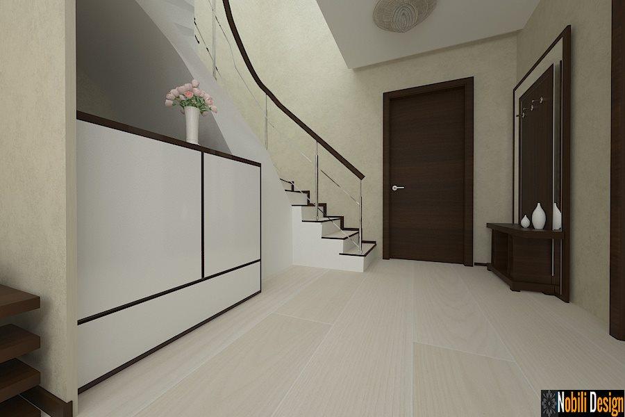 Design - interior - hol - vila - casa - moderna - Cluj
