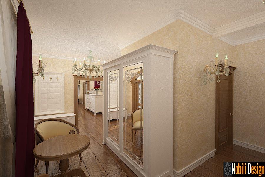 Design - interior - hol - vila - clasica - Bucuresti