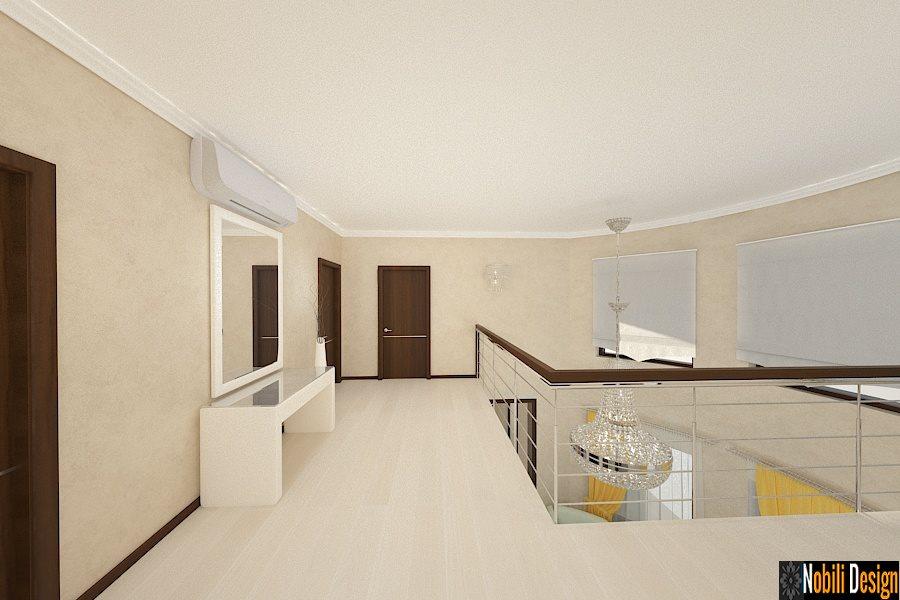 design, interior, hol, vila, moderna, bucuresti