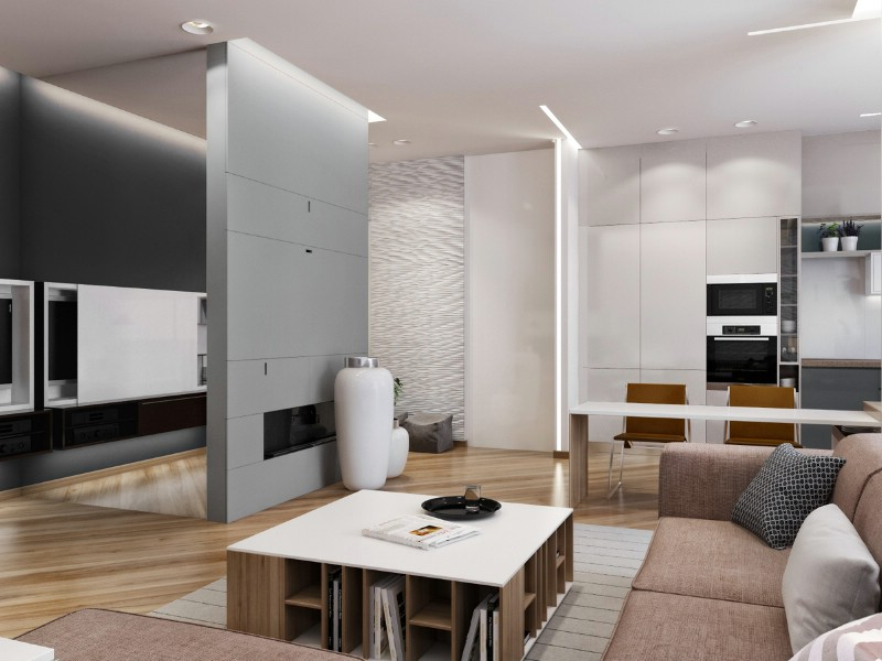 design interior living apartament 3 camere in constanta