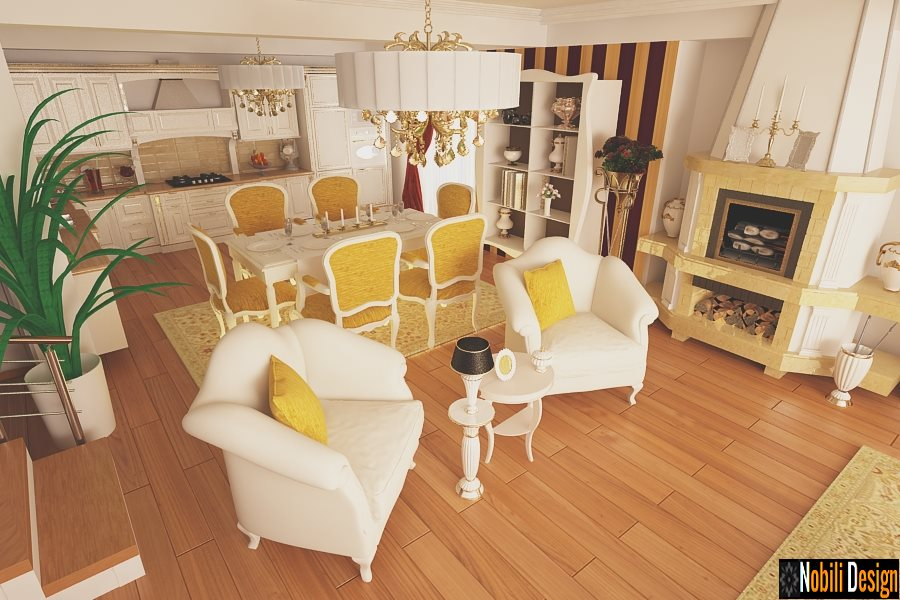 Design - interior - living - bucatarie - casa - Cluj
