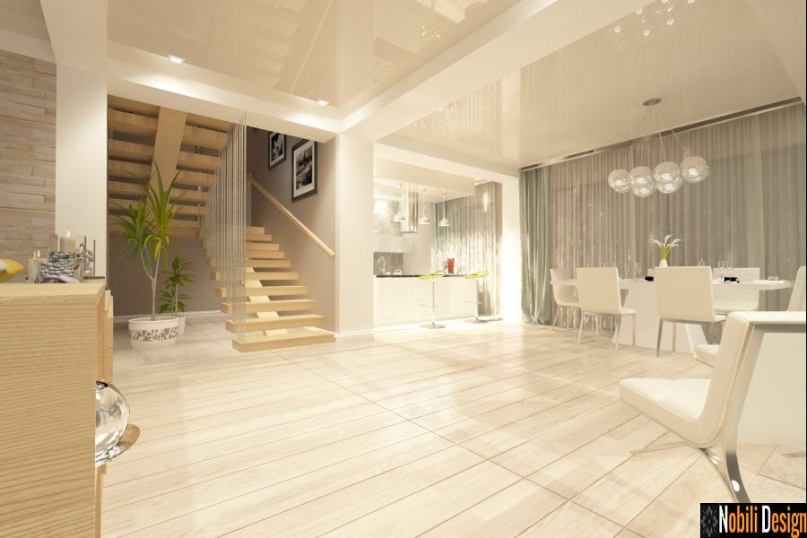 Design - interior - living - bucatrie - open space - Brasov.