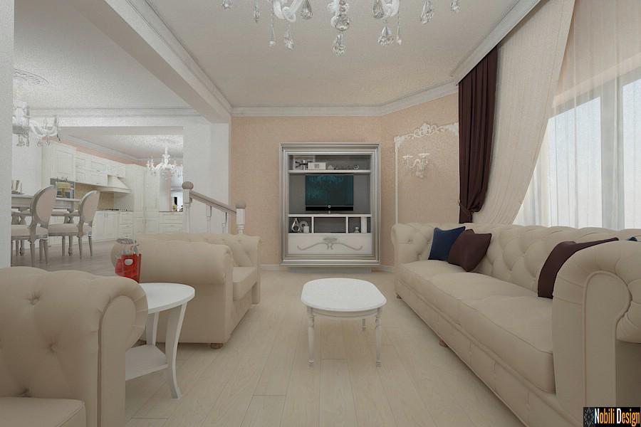 Design - interior - living - casa - clasica - Targu - Mures.