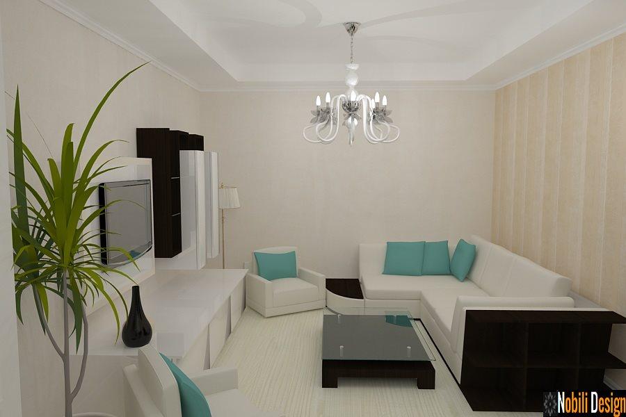 Design interior living open space casa moderna for Casa moderna living