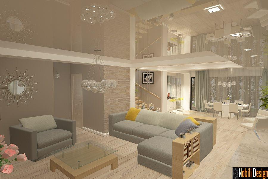 Design - interior - living - casa - moderna - Constanta - Compozitorilor