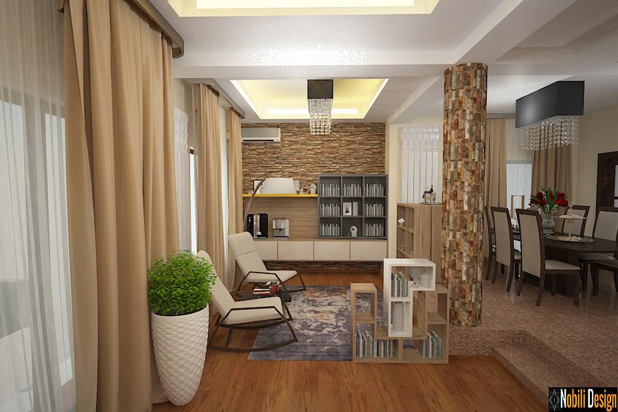 Nobili Interior Design ~ design interior living casa moderna Pipera.