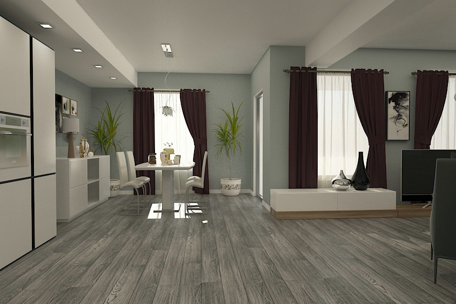 design interior living casa moderna braila