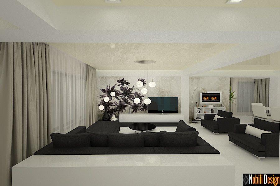 Design interior living casa moderna constanta for Casas modernas 2016 interior