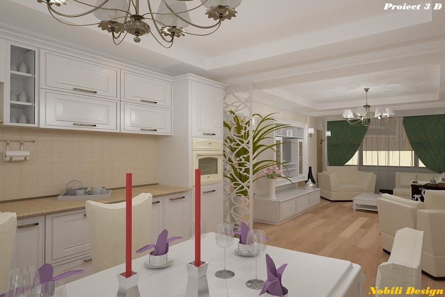 design interior living clasic 3 D