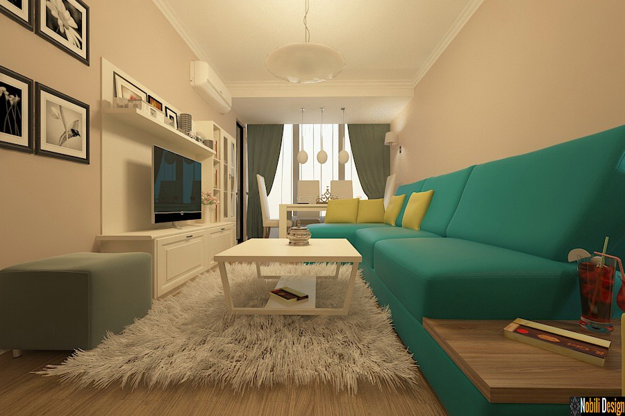 Design - interior - living - clasic - apartament - in - bucuresti.
