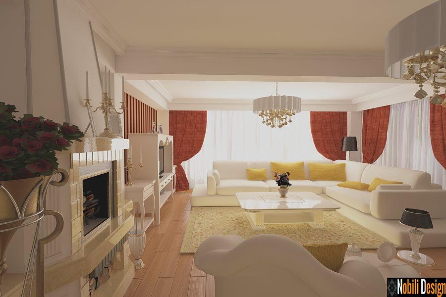 Design interior living clasic - bucuresti pret