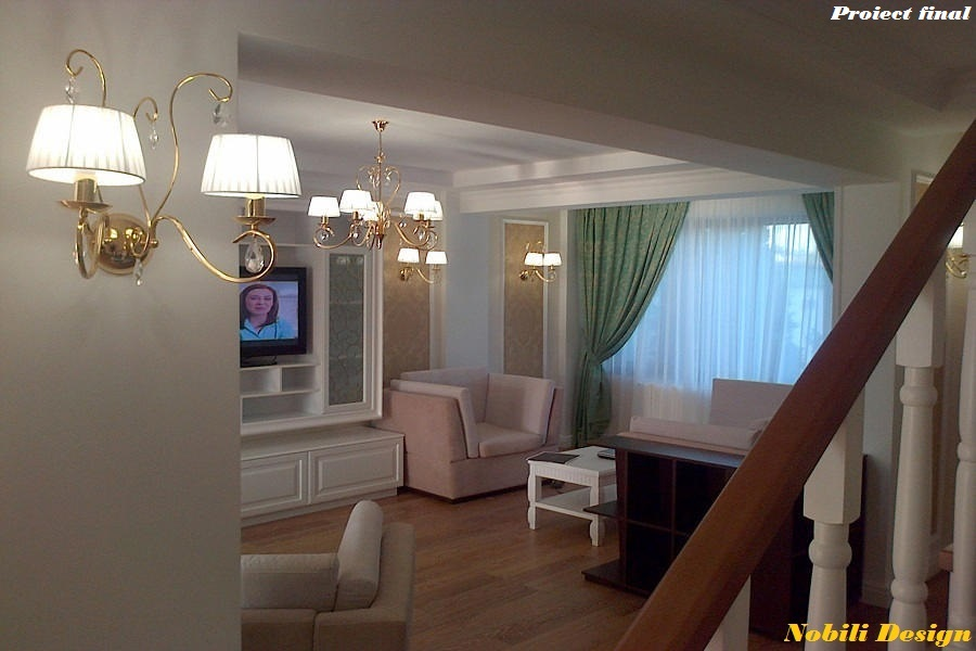 Design interior - living clasic - Constanta