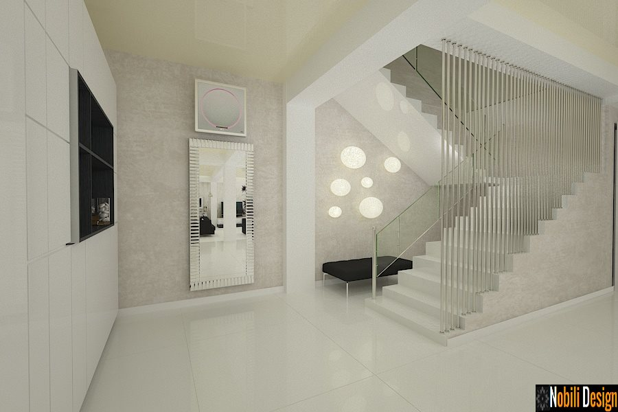 design interior living cu scara constanta