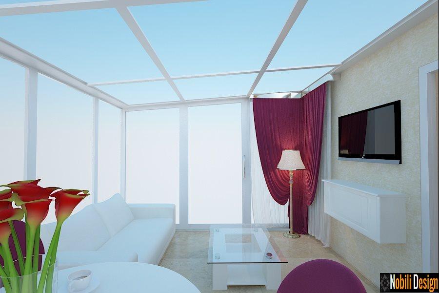 Design - interior - living - garsoniera - Bucuresti