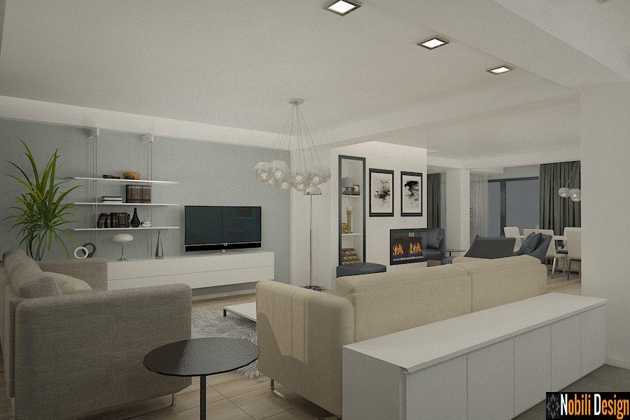 Design interior casa moderna mobila italiana for Casa moderna living