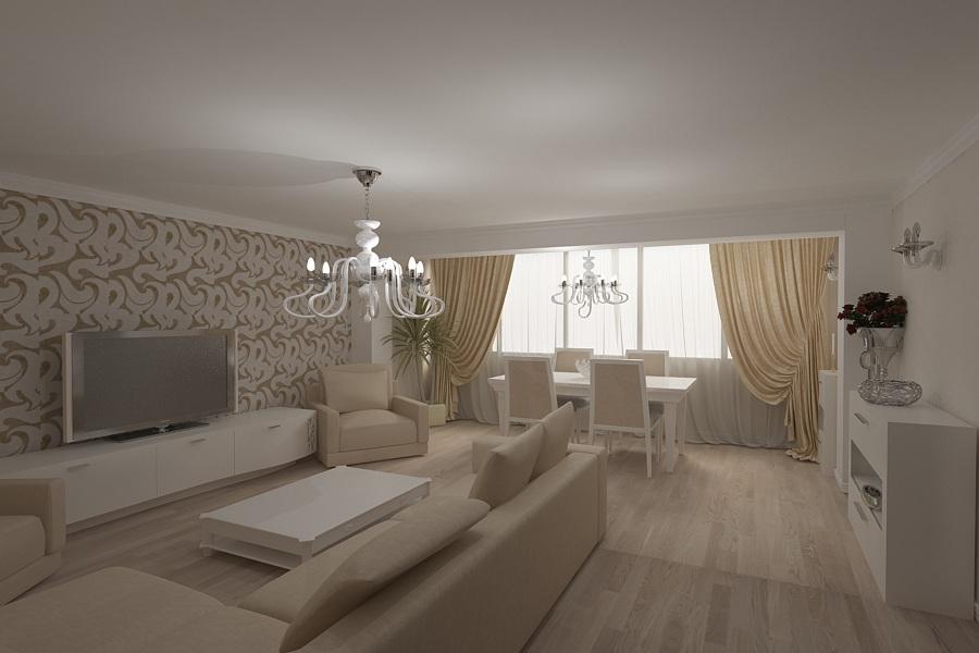 Design interior apartament clasic modern for Design interior living apartament