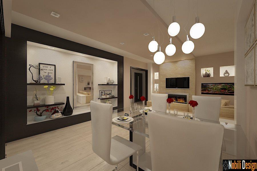 Design interior apartament modern amenajari interioare for Interioare case moderne