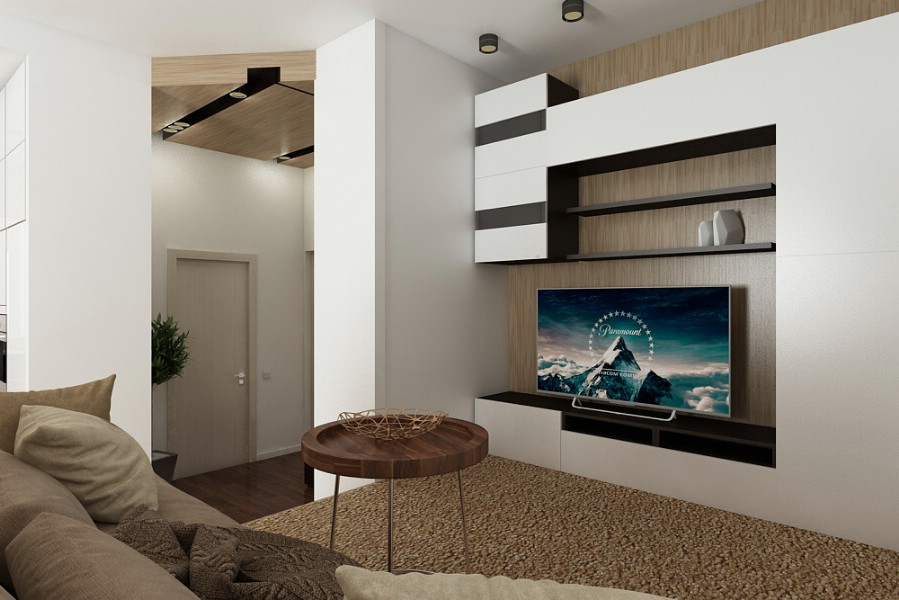Design interior living modern case - Brasov.