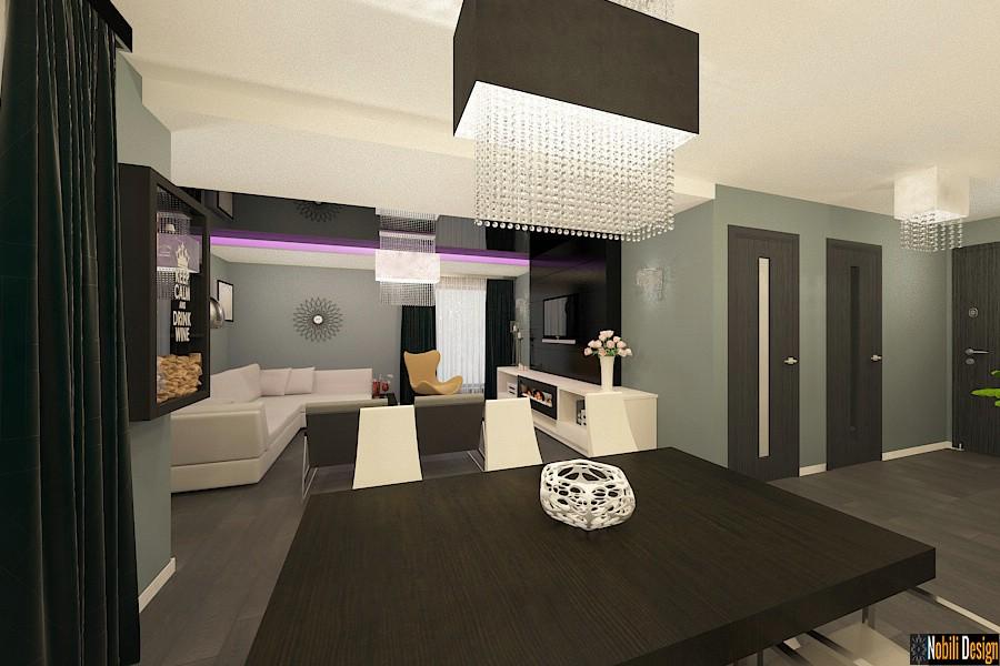 Design interior vila moderna in bucuresti nobili for Case design moderne